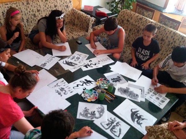 обучение в группе из 8 человек